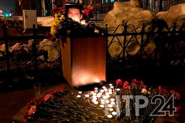 В Татарстане сегодня пройдут похороны погибшего майора полиции