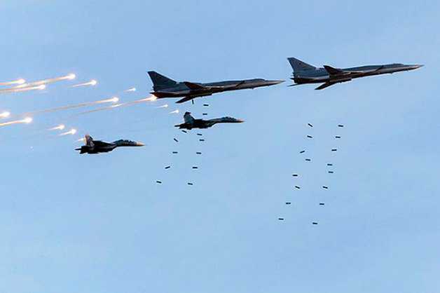 Российские истребители бомбят районы Идлиба, десятки погибших и раненых