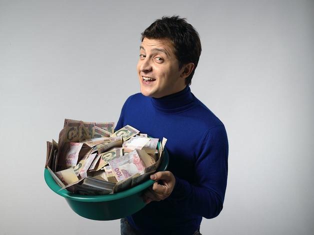 Компанию Зеленского финансируют люди, близкие к экс-замглавы администрации Януковича