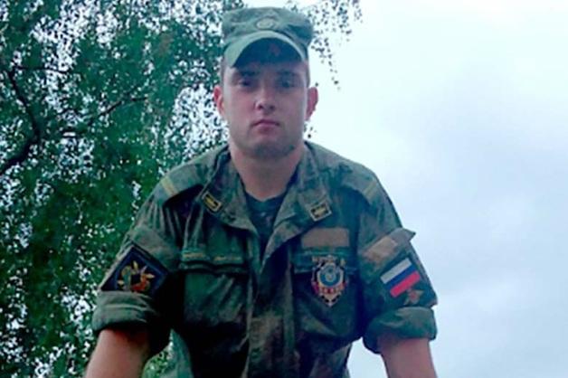 Сбежавший из части сержант-контрактник Денис Белоусов застрелился