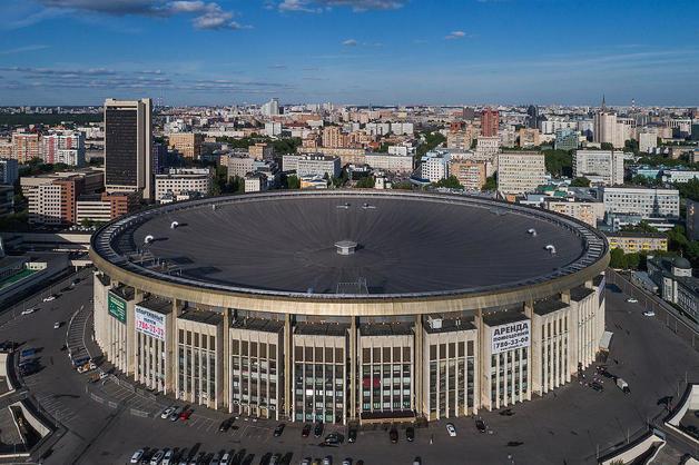 В России загорелся московский спорткомплекс «Олимпийский»