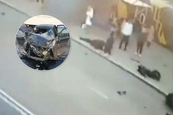 Смертельная авария с нацгвардейцами в Одессе: в сеть попало первое видео