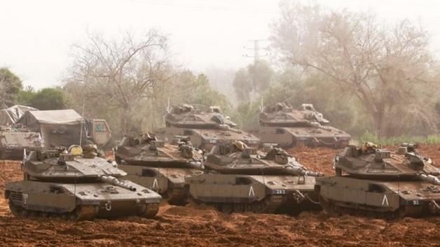 Израильские танки ударили по позициям ХАМАС в секторе Газа
