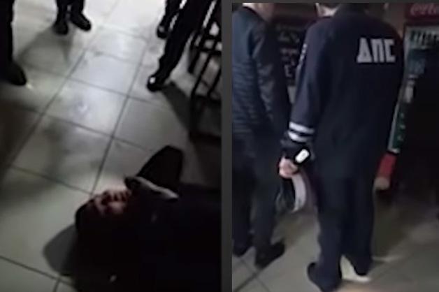 В ГУ МВД Челябинска отрицают, что мужчина в форме инспектора ДПС, начавший драку в баре, является их сотрудником