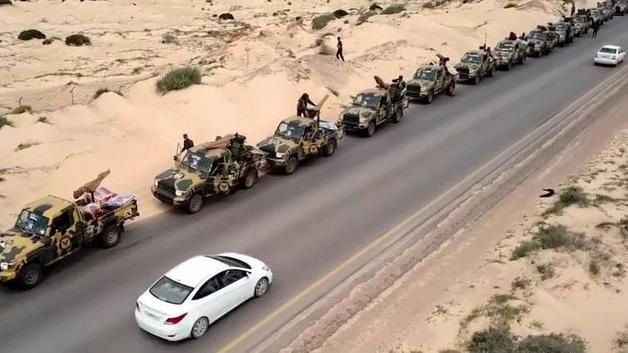 Ливийский маршал начал наступление на Триполи, где проходят переговоры ООН