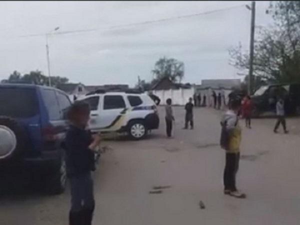 Массовая драка ромов в Закарпатье: появилось видео с места ЧП