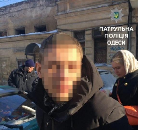 В Одессе полиция с погоней задержала мошенников