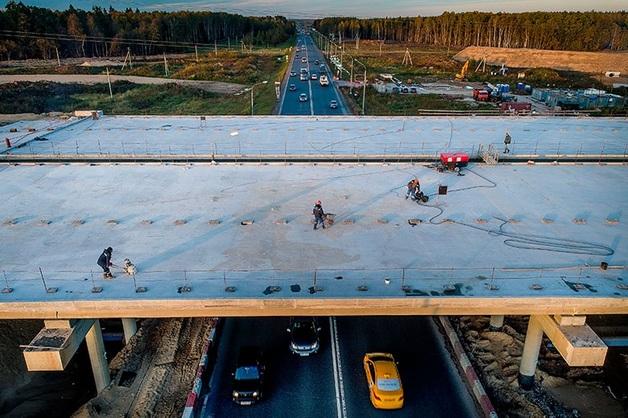 На строительство ЦКАД выделят дополнительные 20 млрд рублей из-за срыва сроков