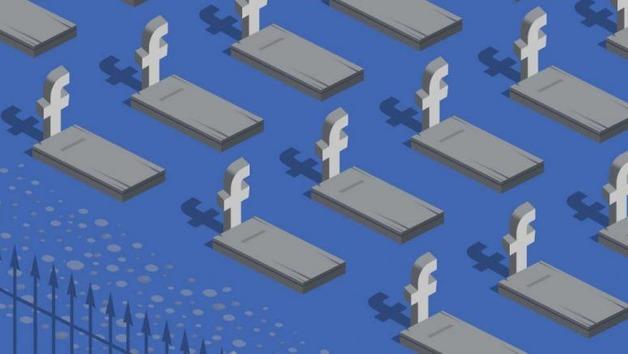 К 2070 году мертвецов в фейсбуке станет больше, чем живых людей