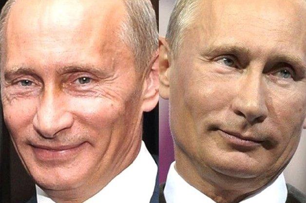 Пуп на лбу: В сети показали результат работы пластических хирургов над Путиным
