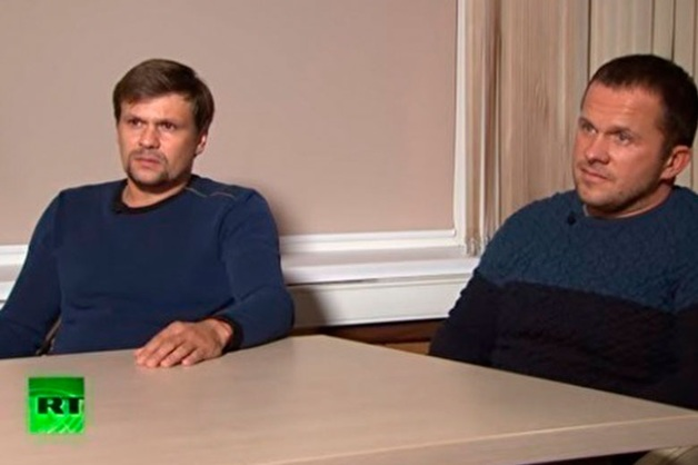Лондон посчитал «забавным» интервью Боширова и Петрова RT