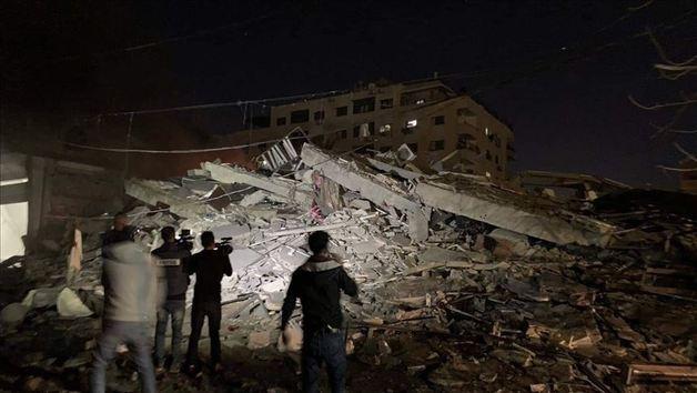 Офис турецкого агентства Anadolu в секторе Газа попало под обстрел