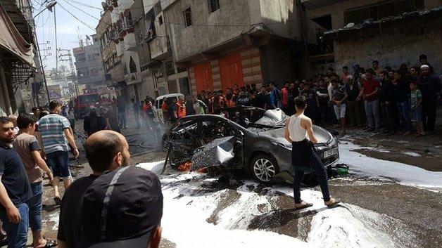 Израиль прицельным авиаударом уничтожил в секторе Газа одного из командиров ХАМАС