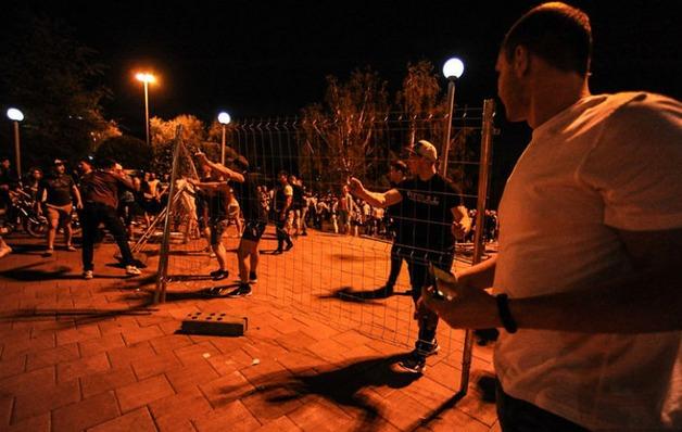 Слезоточивый газ распылили на протестующих против строительства храма в Екатеринбурге