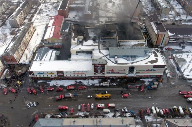 В российском Кемерово начался суд по делу о смертельном пожаре в «Зимней вишне»