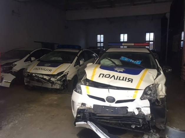 Аварии с участием полицейских: печальная статистика Днепра