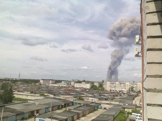 Взрыв в российском Дзержинске повредил почти 200 жилых домов