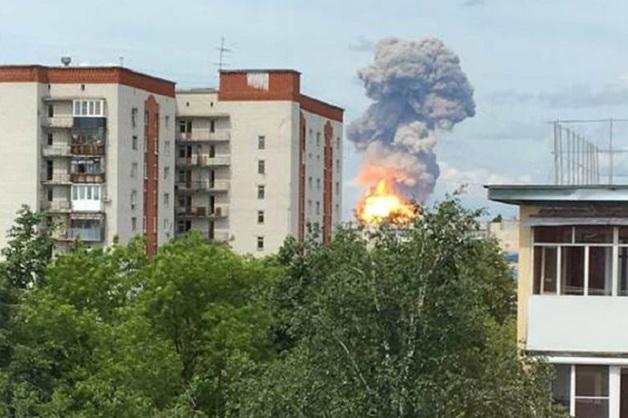 При взрывах на оборонном заводе Дзержинска пострадали 39 человек