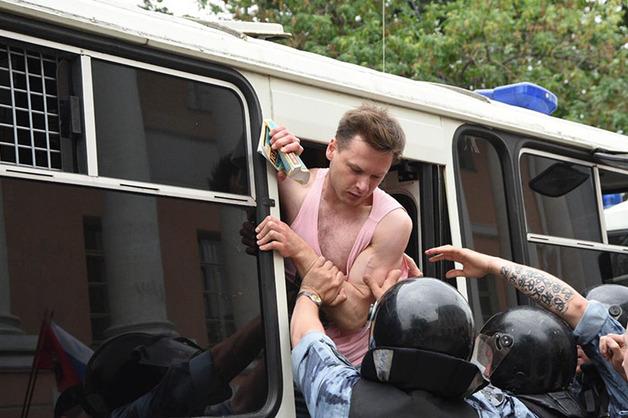 Почти все задержанные на акции в поддержку Ивана Голунова отпущены