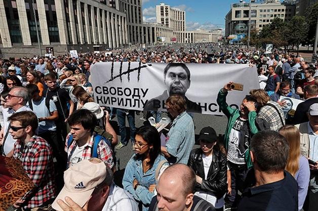 Голунов не пришел на акцию в поддержку прав журналистов