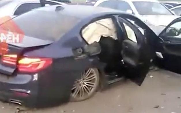 «Папа - полковник». Пьяные мажоры на BMW в Челябинске разнесли парковку