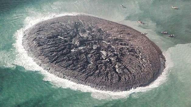 У берегов Пакистана исчез остров