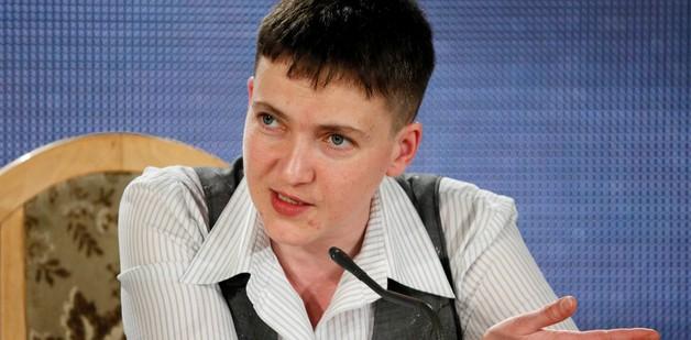 Савченко опубликовала новые списки пленных для оккупантов