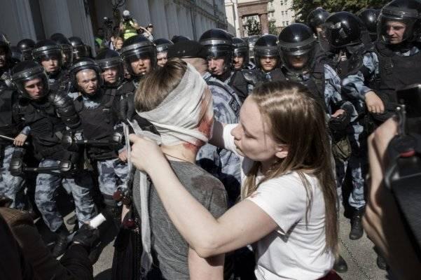 Правозащитники обратились в СК по поводу жестокости силовиков на акции 27 июля