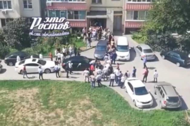 В Ростове-на-Дону устроили стрельбу на свадьбе