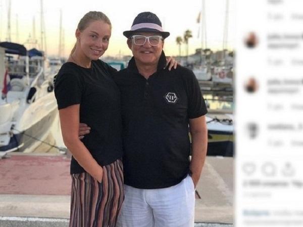 Дмитрий Дибров врезался на мотоцикле в дерево с женой Полиной