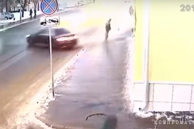 Со спецстоянки угнали Mercedes, арестованный по резонансному ДТП с погибшим росгвардейцем
