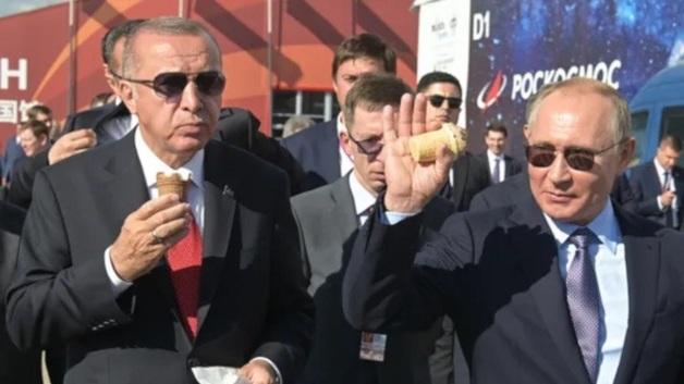 Путин на МАКС купил мороженое у той же продавщицы, что и два года назад