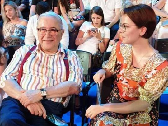 """Петросян засветился на """"Новой волне"""" с молодой любовницей"""