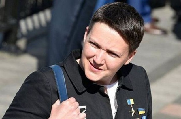 Савченко перестала мыть ноги