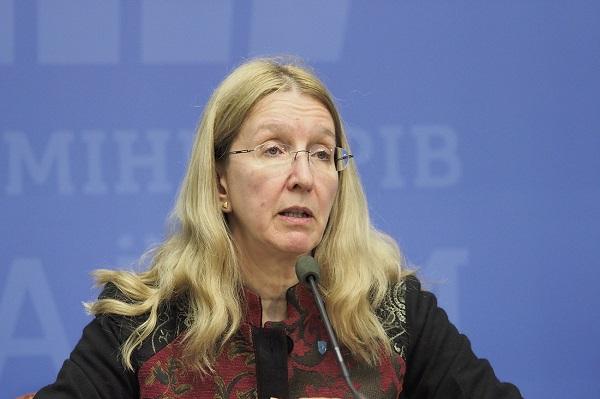 Супрун рассказала, как ее мужа избили в Киеве