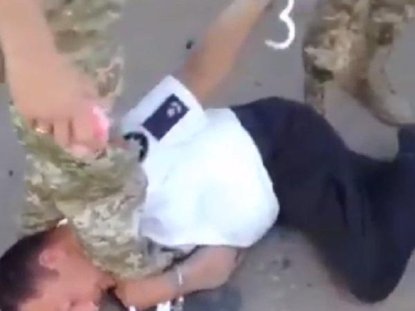 Пьяный майор Белгород-Днестровской полиции чуть не сбил людей на трассе