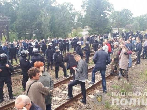 Блокада российского угля: Полиция отпустила всех задержанных