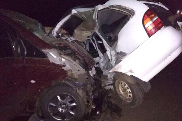 """Авто """"всмятку"""": на Полтавщине произошло смертельное тройное ДТП"""