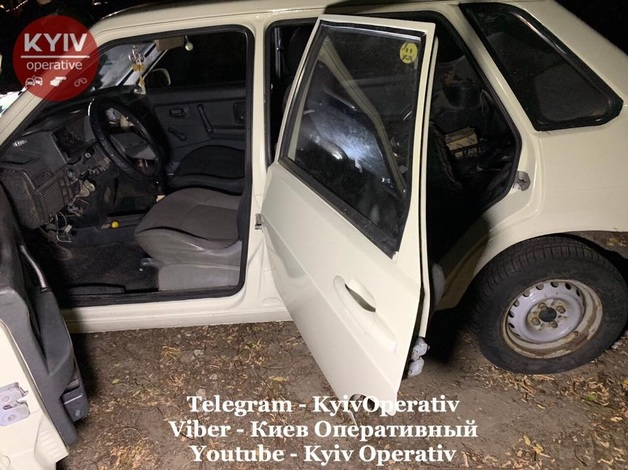 В Киеве члены «общественной организации» стреляли по полицейским