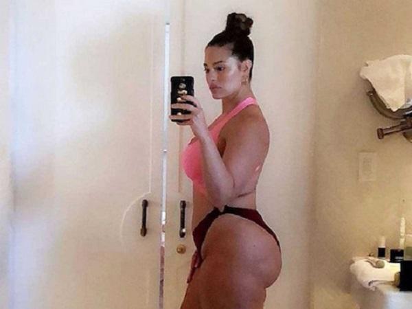 «Абсолютно прекрасна»: беременная модель plus-size Эшли Грэм снялась голой в провокационном видео