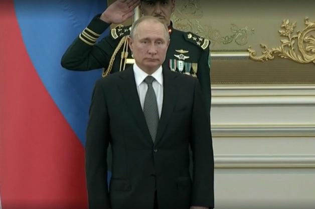 На встрече Путина с королем Саудовской Аравии прозвучало подобие гимна РФ