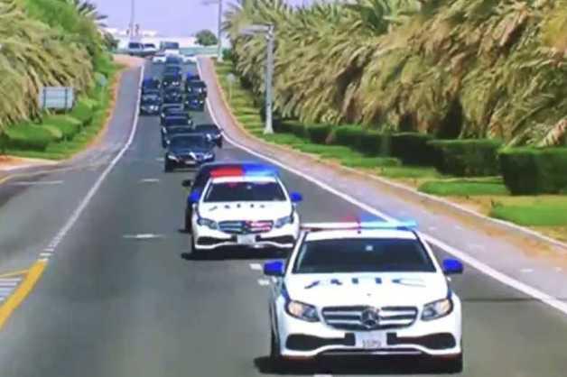 Посольство в ОАЭ объяснило сопровождение кортежа Путина машинами «ДПС»