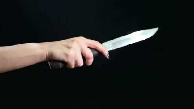 В Запорожье мать бросилась с ножом на своих детей, а потом пыталась покончить с собой