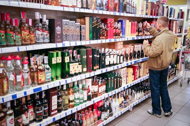 На территории Украины продается алкоголь с акцизной маркой ДНР