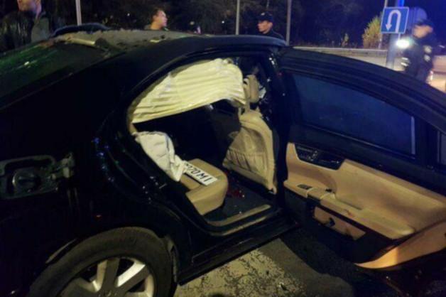 В Киеве взорвали автомобиль российско-украинского бизнесмена