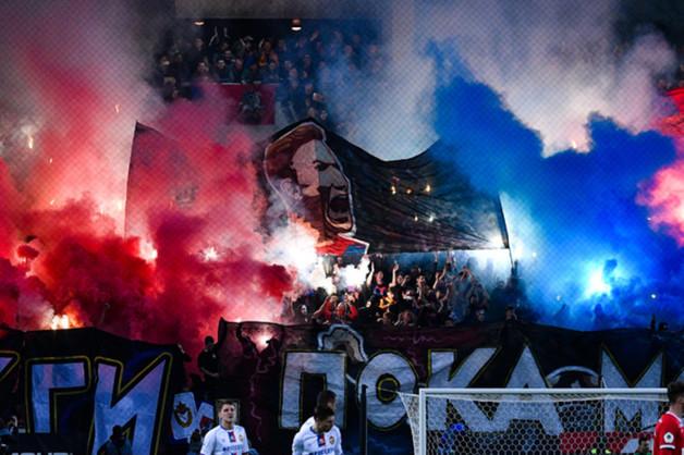 В Будапеште болельщики из России вступили в стычки с полицией перед матчем «Ференцварош» — ЦСКА