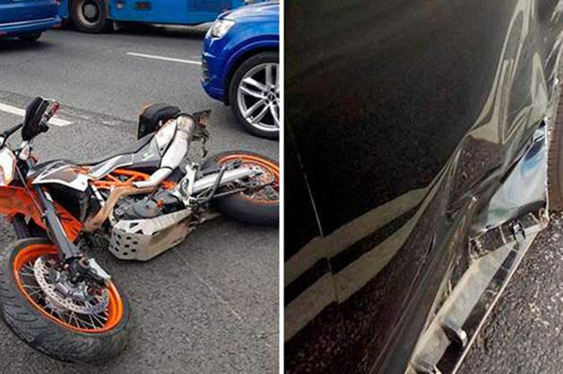 Сбившего мотоциклиста в Москве депутата лишили водительских прав