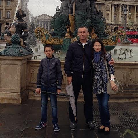 семья Загида Краснова