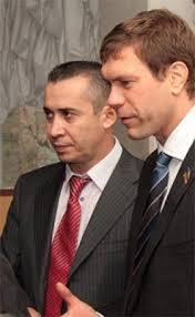 Загид Краснов и Олег Царев