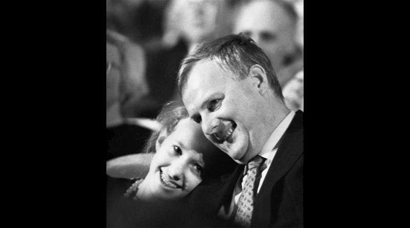 Анатолий Собчак и его дочь Ксения